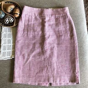 Woven Banana Republic Pencil Skirt